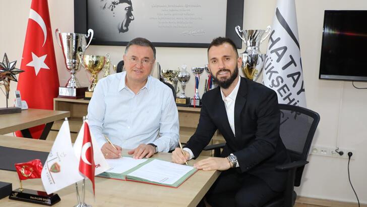 Son dakika haberi - Emre Çolak, Atakaş Hatayspor'a imza attı