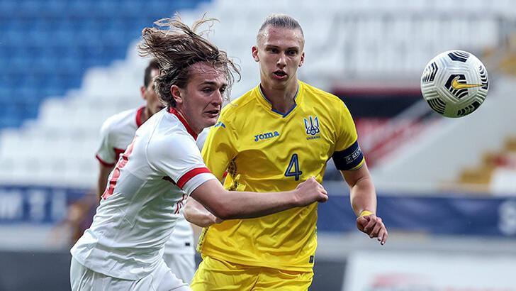 Ümit Milli Takım, hazırlık maçında Ukrayna ile yenişemedi