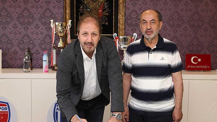 Son dakika - Ankaraspor, teknik direktör Taner Taşkın ile anlaştı