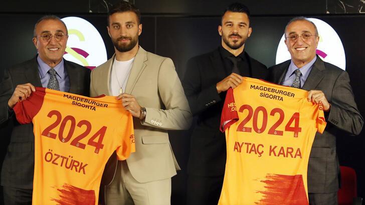 2 isim Galatasaray ile anlaşmaya vardı