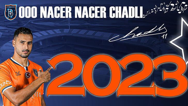 Son dakika - Başakşehir, Nacer Chadli ile 2 yıllık sözleşme imzaladı