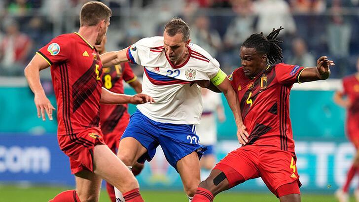 Belçika - Rusya: 3-0