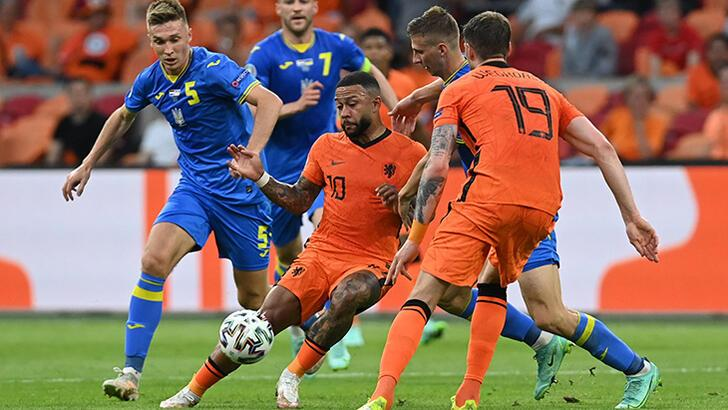 Hollanda - Ukrayna: 3-2