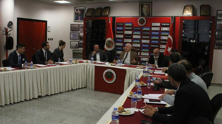 Gençlerbirliği Kulübünde, yönetim kurulunun görev dağılımı yapıldı