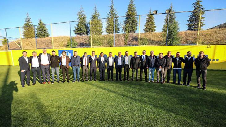 MKE Ankaragücü Kulübünde yeni yönetimin görev dağılımı yapıldı