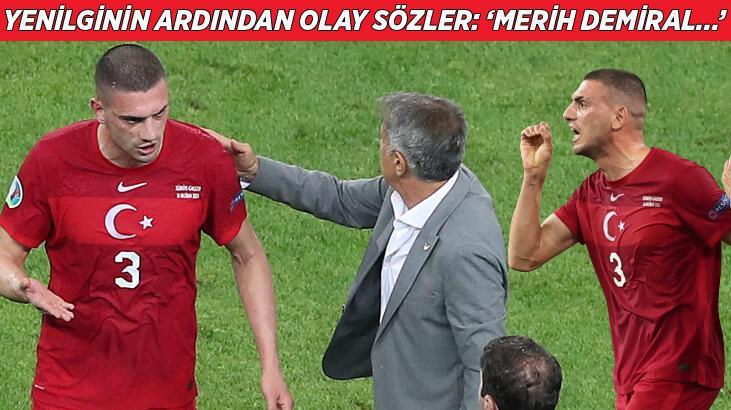"""Son dakika haberi - Türkiye-Galler maçının ardından olay sözler: """"Merih Demiral..."""""""