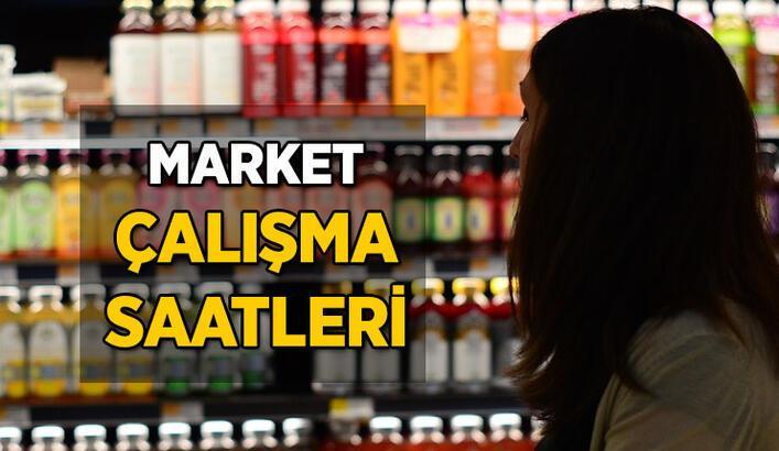 Bugün marketler kaça kadar açık, kaçta kapanıyor 2021? Market çalışma saatleri neler?