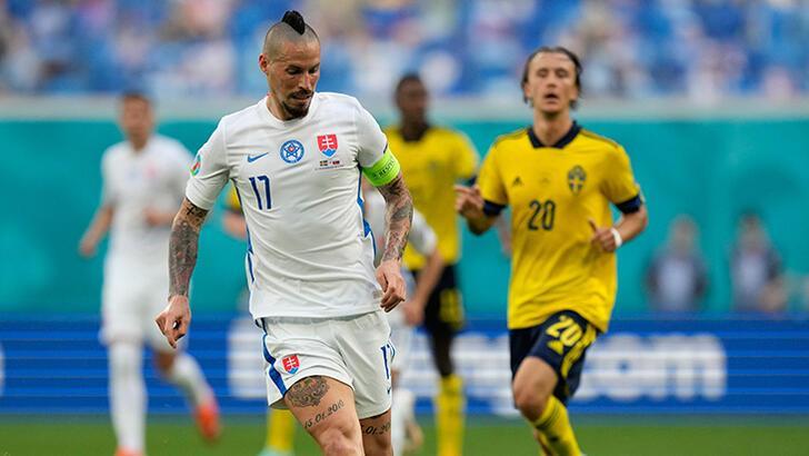 İsveç - Slovakya: 1-0