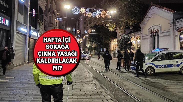 Hafta içi ve hafta sonu sokağa çıkma yasağı kaldırıldı mı? Sokağa çıkma kısıtlaması ne zaman bitiyor?