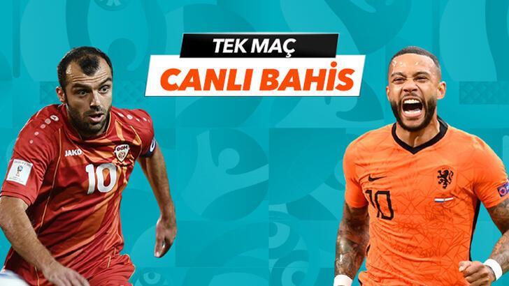 Kuzey Makedonya-Hollanda maçı Canlı Bahis seçenekleriyle Misli.com'da!