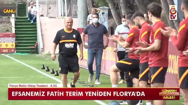 Son dakika - Galatasaray Teknik Direktörü Fatih Terim, Florya'da! Arda Turan detayı