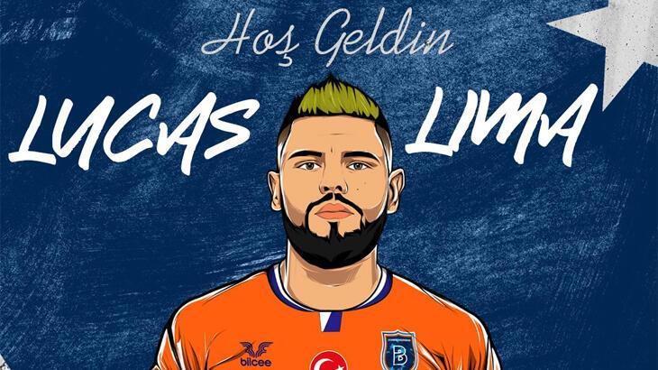 Başakşehir, Lucas Lima transferini resmen açıkladı