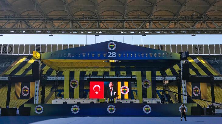 Son dakika - Fenerbahçe 34'üncü başkanını seçiyor!  Olağan Seçimli Genel Kurul başladı