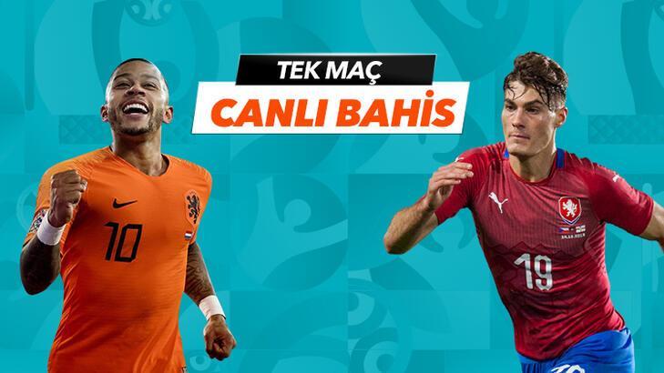 Hollanda - Çekya maçı Tek Maç ve Canlı Bahis seçenekleriyle Misli.com'da