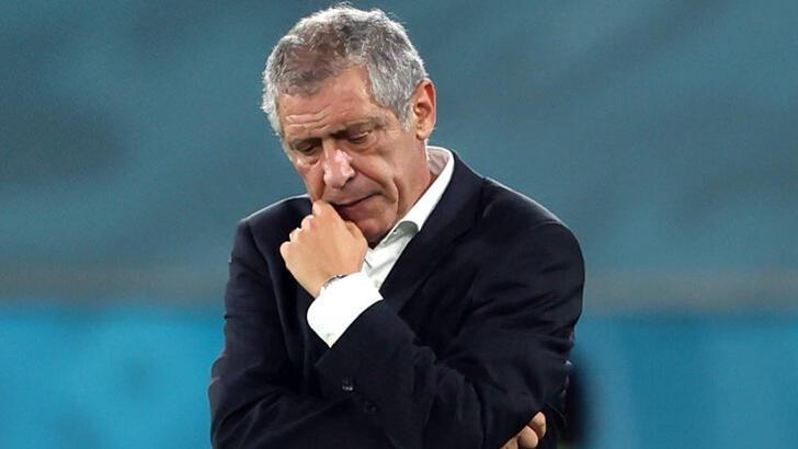 """Santos: """"Ağlayan oyuncularım var"""""""