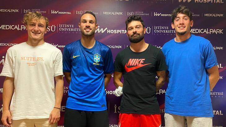 GZT Giresunspor'da futbolcuların sağlık kontrolleri yapılıyor
