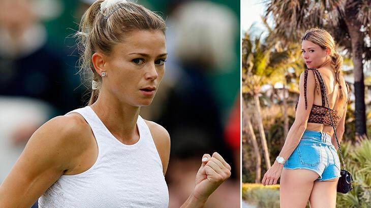 Ünlü tenisçi Camila Giorgi'nin görüntüleri sosyal medyayı salladı!