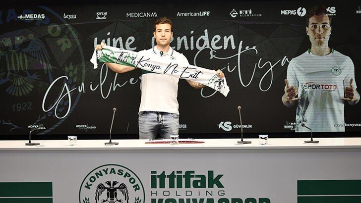 Son dakika - Konyaspor, Guilherme'nin sözleşmesini uzattı!