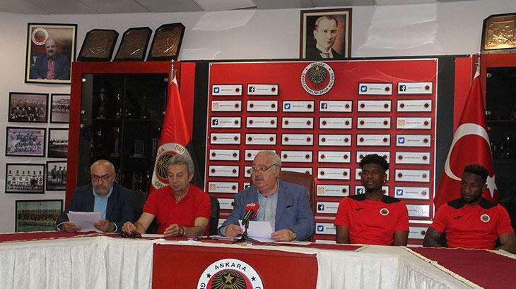 Gençlerbirliği'nde LuaLua ve Tshibola imzayı attı