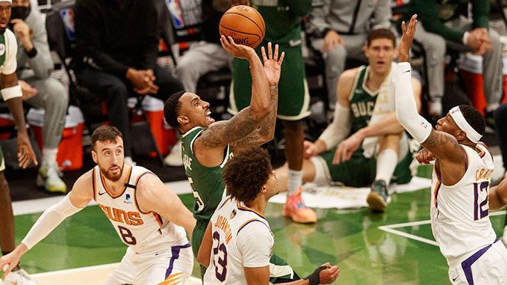 NBA final serisinde durum 2-1 oldu