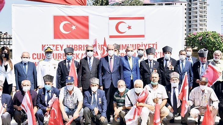 Ersin Tatar, Mersin'de gazilerle buluştu