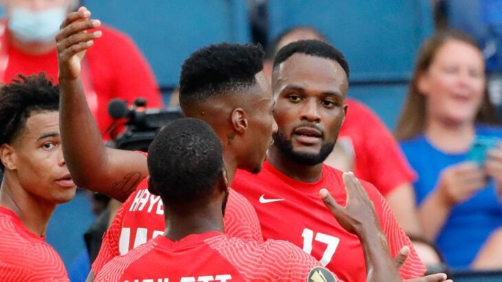 Son dakika haberi - Cyle Larin'den Haiti kalesine 2 gol