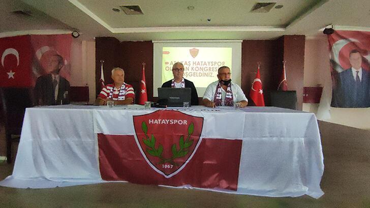 Son dakika - Atakaş Hatayspor'da yönetim güven tazeledi