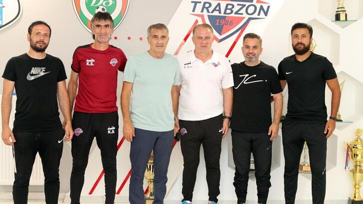 Şenol Güneş'ten Hekimoğlu Trabzon Kulübünü ziyaret