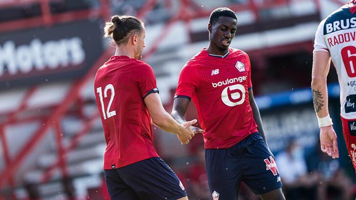 Son dakika - Lille'de tek golü Yusuf Yazıcı attı!