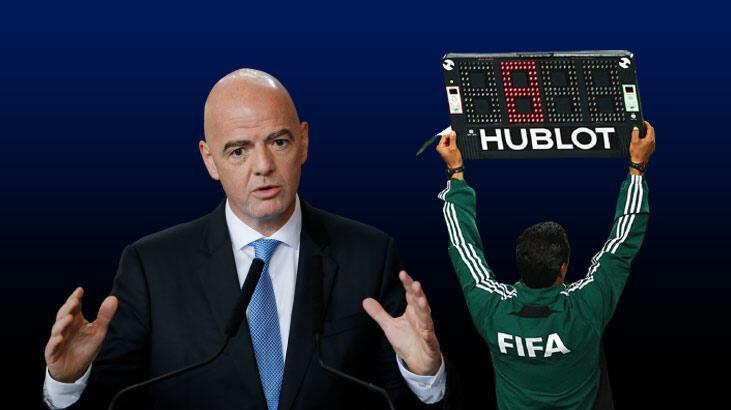 Son dakika - FIFA'dan futbolda tarihi değişiklik! Oyun süresi, taç atışı, süre cezası...
