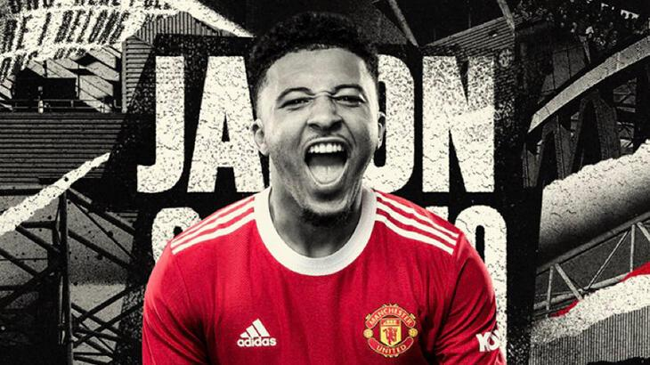Son dakika - Manchester United, Jadon Sancho'yu transfer etti