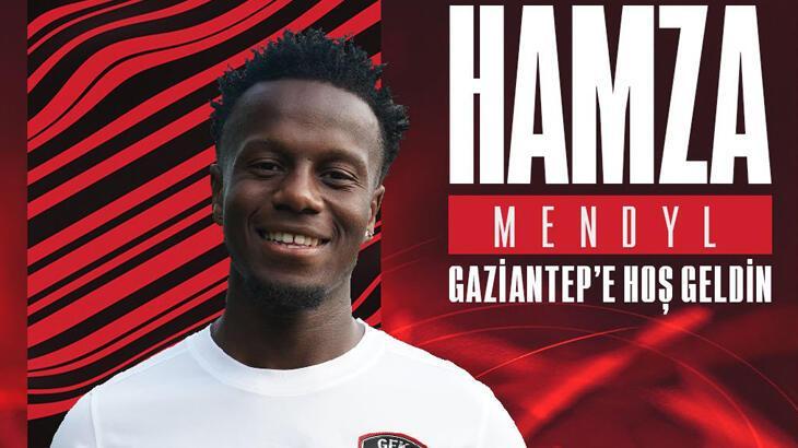 Son dakika - Gaziantep FK, Hamza Mendyl'i resmen açıkladı