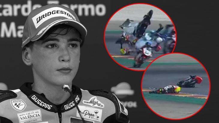 Son dakika haberi - İspanya'da kahreden kaza! 14 yaşındaki yarışçı hayatını kaybetti