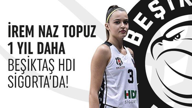 Beşiktaş'ta İrem Naz'ın sözleşmesi uzatıldı