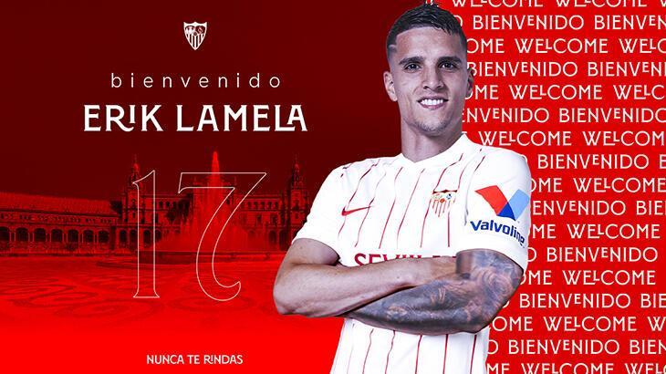 Son dakika - Sevilla, Erik Lamela'yı transfer etti
