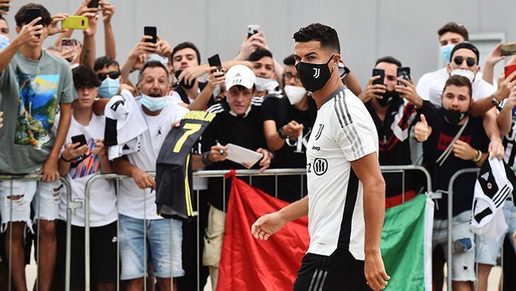 Son dakika - Juventus'ta Ronaldo coşkusu
