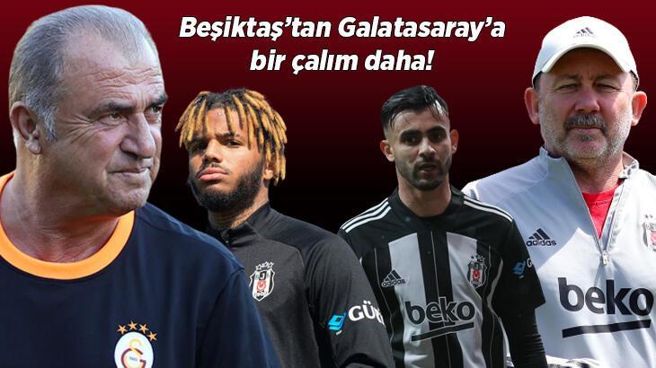 Son dakika haberi: Beşiktaş'tan Galatasaray'a bir transfer çalımı daha! Ghezzal ve Rosier'in ardından