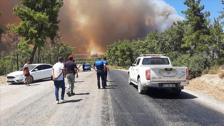 Antalya Manavgat yangını söndürüldü mü, son durum ne? - Haberler Milliyet