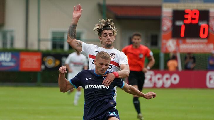 Son dakika haberi: Gaziantep FK - Hertha Berlin maçı yarıda kaldı