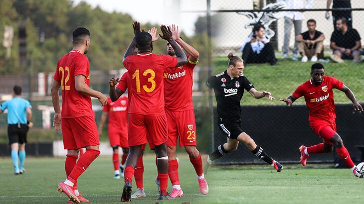 Son dakika haberi: Beşiktaş - Kayserispor maçına Luckassen damgası! Siyah-beyazlılar durduramadı