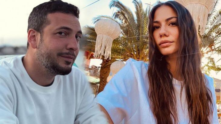Oğuzhan Koç'tan sevgilisi Demet Özdemir'e romantik jest
