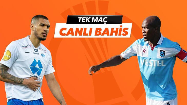 Molde - Trabzonspor maçı canlı bahis heyecanı Misli.com'da