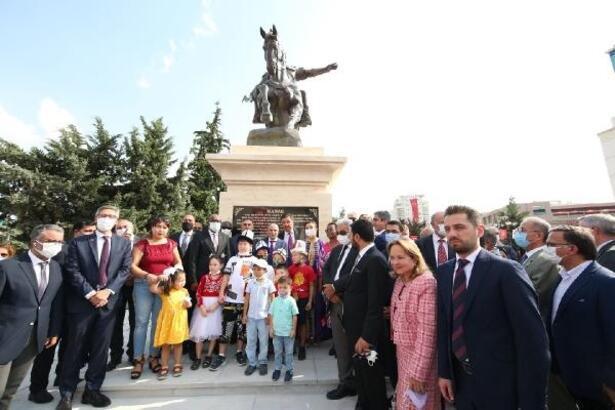Er Manas heykeli Keçiören'de yaşayacak - Ankara Haberleri