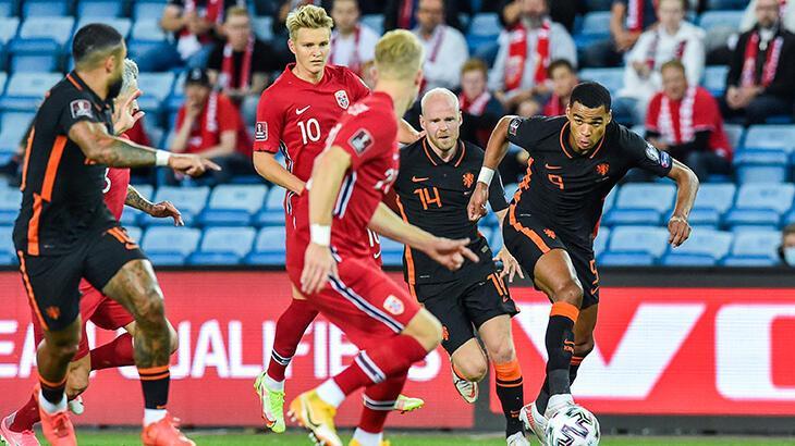 Son dakika haberi: Norveç ile Hollanda puanları paylaştı
