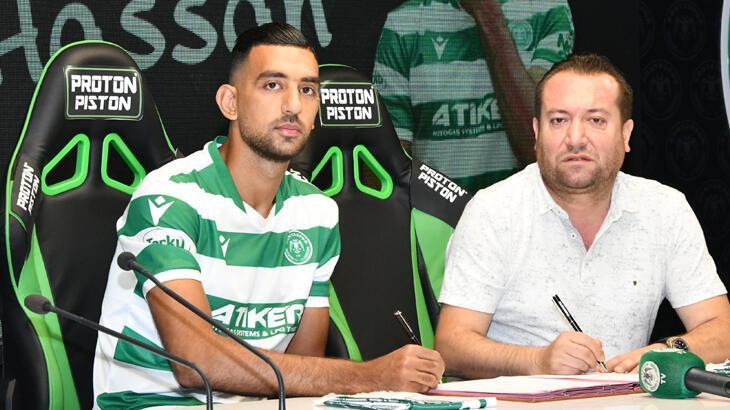 Konyaspor, Mısırlı Ahmed Hassan'ı transfer etti
