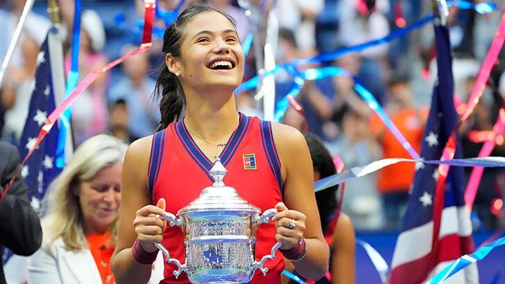 Son dakika - Amerika Açık tek kadınlar şampiyonu Emma Raducanu oldu!