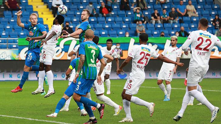 Çaykur Rizespor - Atakaş Hatayspor: 0-2