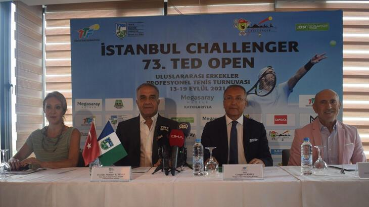 Türkiye Tenis Federasyonu Başkanı Cengiz Durmuş'tan İstanbul Challenger TED Open açıklaması