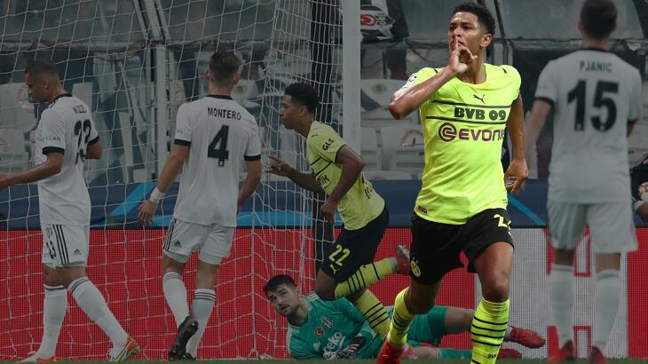 Son dakika haberi -  Beşiktaş-Dortmund maçında olay hareket! Şampiyonlar Ligi tarihine geçti