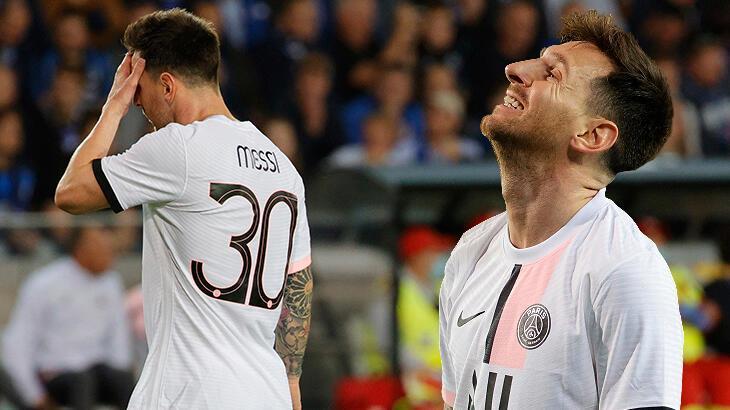 Son dakika haberi: Messi'ye ilk maçında büyük şok! Yerden yere vurdular...